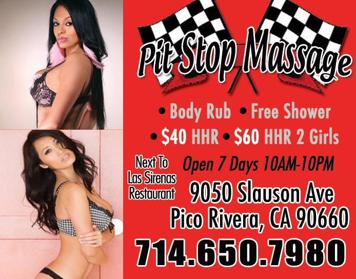 Pit Stop Massage