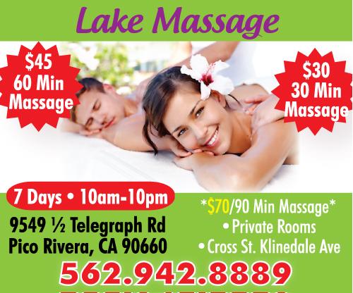 info massage pico rivera