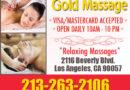Gold Massage